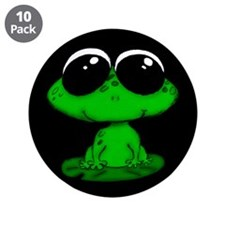 """Froggie 3.5"""" Button (10 pack)"""