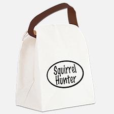 Squirrel Hunter Canvas Lunch Bag