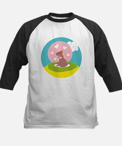 Capybara in Love Baseball Jersey