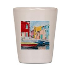 Bruges Venice Italy Shot Glass