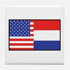 USA/Holland Tile Coaster