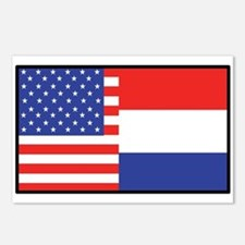 USA/Holland Postcards (Package of 8)
