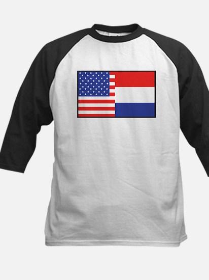 USA/Holland Kids Baseball Jersey