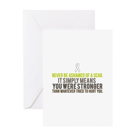 Stronger Greeting Card