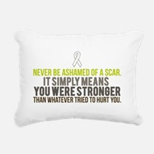 Stronger Rectangular Canvas Pillow