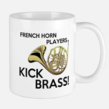 Horn Players Kick Brass Mug