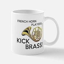 Horn Players Kick Brass Small Small Mug