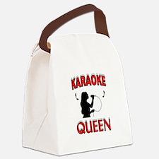 KARAOKE QUEEN Canvas Lunch Bag