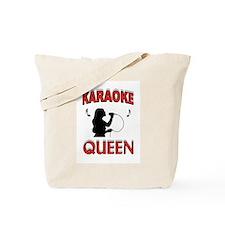 KARAOKE QUEEN Tote Bag