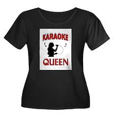 KARAOKE QUEEN Plus Size T-Shirt