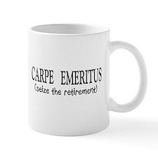 Carpe Emeritus Mugs