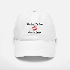 Cascadia - Kiss Me Baseball Baseball Cap