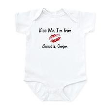 Cascadia - Kiss Me Infant Bodysuit