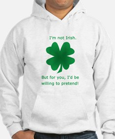 Funny St. Patricks Day design Hoodie