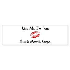 Cascade Summit - Kiss Me Bumper Bumper Bumper Sticker