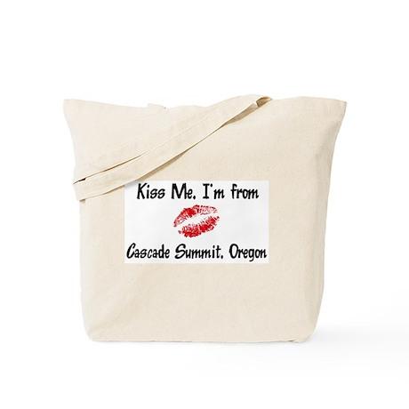 Cascade Summit - Kiss Me Tote Bag