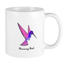 humming bird art illustration Mug