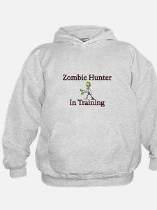 Zombie Hunter in training Hoodie