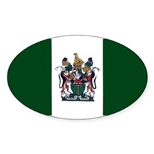 Rhodesian Flag Rectangle Decal