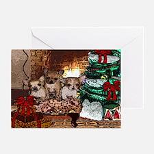 Chihuahua Christmas Watercolor Greeting Cards (Pac