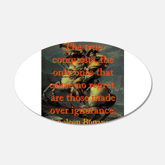 The True Conquests - Napoleon Wall Sticker