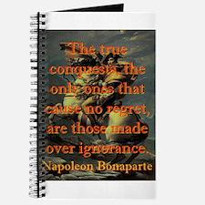 The True Conquests - Napoleon Journal