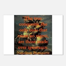 The True Conquests - Napoleon Postcards (Package o