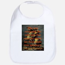 The True Conquests - Napoleon Cotton Baby Bib