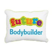 Future Bodybuilder Rectangular Canvas Pillow