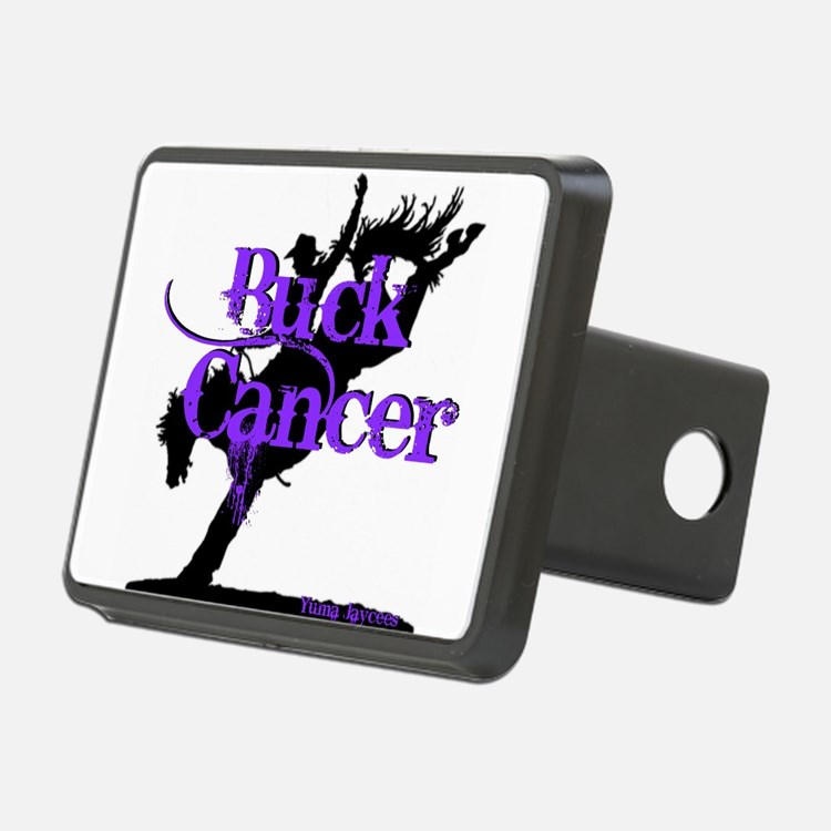Buck Cancer Hitch Cover
