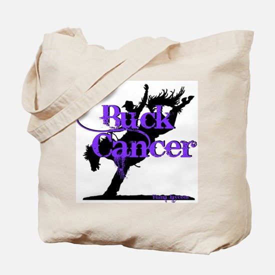 Buck Cancer Tote Bag