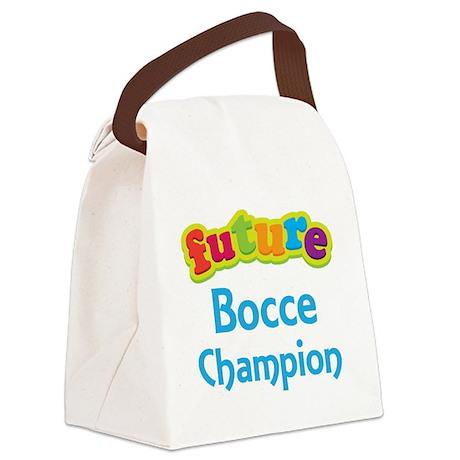 Future Bocce Champion Canvas Lunch Bag
