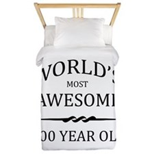 World's Most Awesome 100 Year Old Twin Duvet