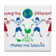 Seeing the World Differently, Autism awareness. Ti