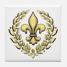 Fleur Laurel Tile Coaster