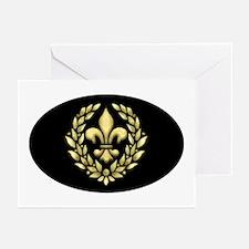Fleur Laurel Greeting Cards (Pk of 10)