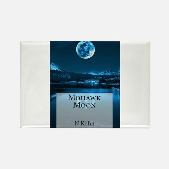 Mohawk Moon Rectangle Magnet