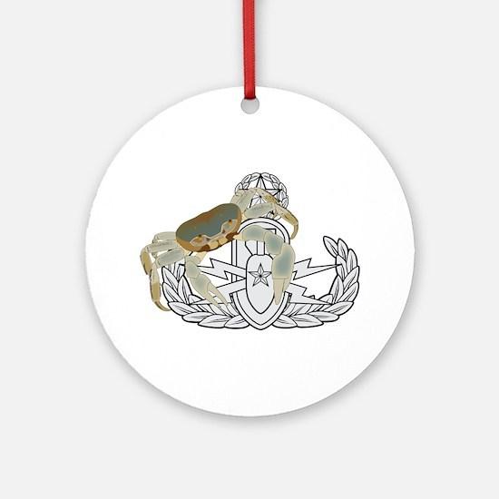 Master EOD Crab Ornament (Round)