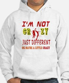 I'm not Crazy just different Beach Volleyball Hood