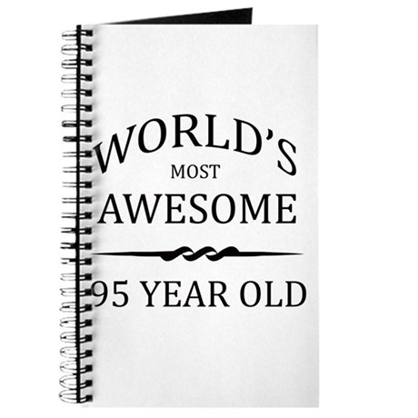 World's Most Awesome 95 Year Old Journal