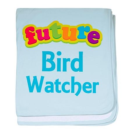 Future Bird Watcher baby blanket