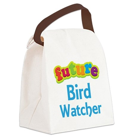 Future Bird Watcher Canvas Lunch Bag