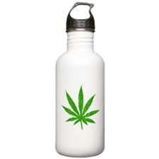 Marijuana Leaf Water Bottle