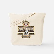 USN Seabees Est. 1942 Tote Bag