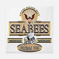 USN Seabees Est. 1942 Queen Duvet