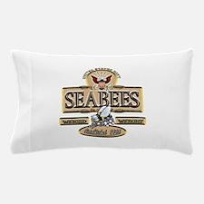 USN Seabees Est. 1942 Pillow Case