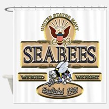 USN Seabees Est. 1942 Shower Curtain