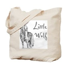 Little Wolf Tote Bag