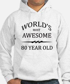 World's Most Awesome 80 Year Old Hoodie
