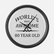 World's Most Awesome 80 Year Old Large Wall Clock